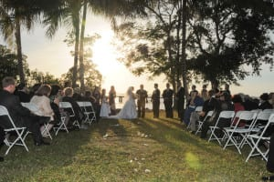 MIami Q Catering Miami Outdoor Wedding